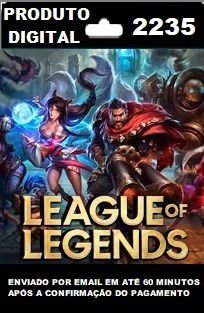 2235 RPs para League of Legends (LOL)