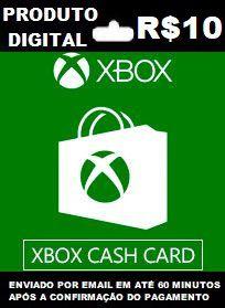 Xbox Cash Recarga de R$10