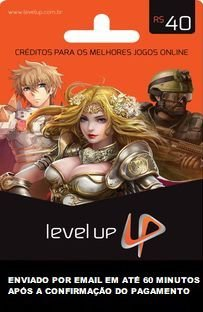 R$40 de Saldo para Level Up