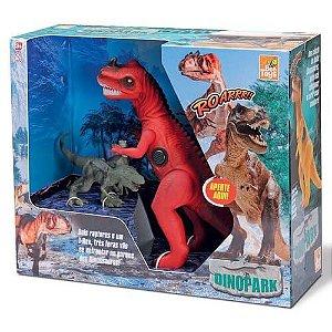 Dino Park - Trio de dinossauros