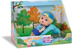 Little Dolls - Play Ground - Escorregador - menino