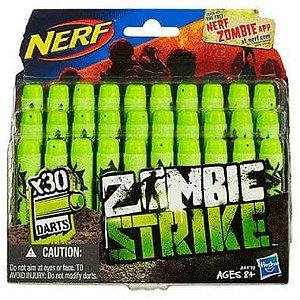 Nerf Zombie Refil 30 Dardos - Hasbro