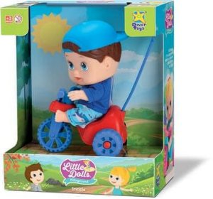 Little Dolls Playground Triciclo - Menino - Divertoys