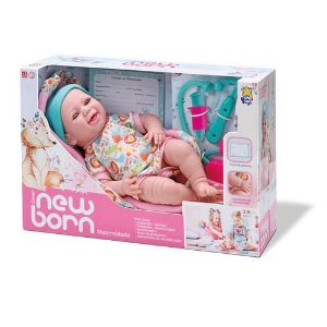 Boneca New Born Maternidade - Divertoys