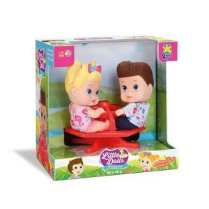 Little Dolls Playground Gira Gira - Divertoys