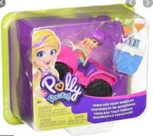 Polly Pocket Quadriciclo - Mattel