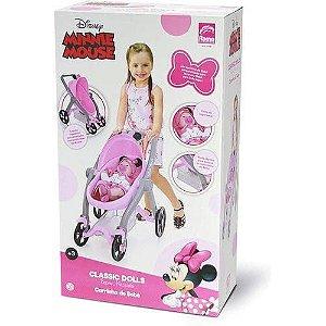 Classic Dolls Carrinho de Bebê Minnie Mouse - Roma
