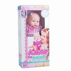 Boneca Amor de Bebê - Cotiplás