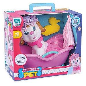 Esquadrão Pet Banho Menina - Super Toys
