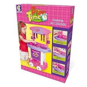 Play Time Cozinha da Cotiplás Rosa - Cotiplás