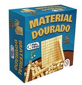 Material Dourado 74 peças - Pais e Filhos
