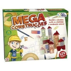 Mega Construções 120 peças - Pais e Filhos