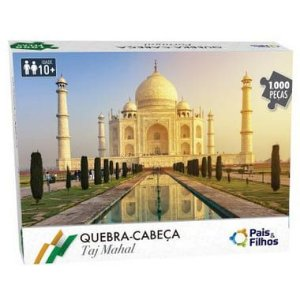 Quebra Cabeça Taj Mahal 1.000 Peças - Pais e Filhos