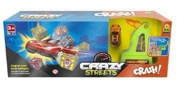 Pista Crazy Streets Crash - BSToys