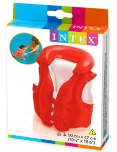 Colete Inflável Infantil Deluxe - Intex