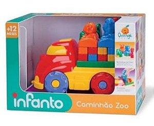 Caminhão Educativo Zoo - Orange Toys