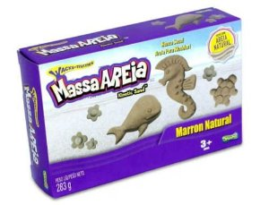 Massa Areia Marron Natural - Sunny