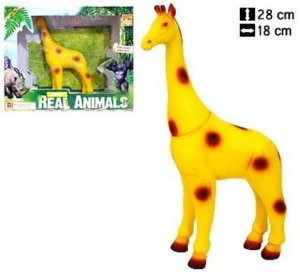 Girafa Coleção Real Animals - Bee Toys