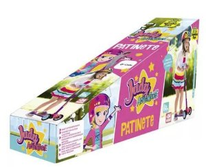 Patinete Infantil 3 Rodas E Freio Judy Adventure - Samba Toys