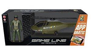 Helicóptero Resgate com Boneco - Bs Toys