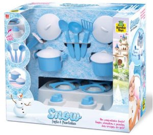 Fogão E Panelinhas Snow- Samba Toys
