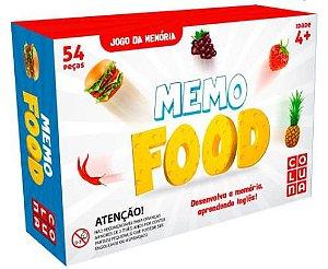 Jogo Da Memoria Memo Food 40 Pecas - Coluna