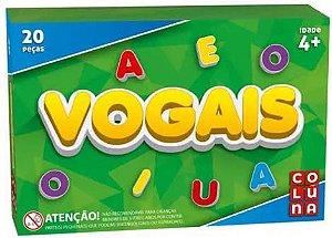 Jogo Vogais 20 Pecas - Coluna