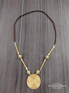 Colar Capim Dourado Cód. C2 - Hipoalergênico