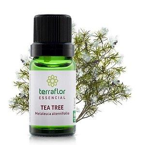 Óleo essencial - tea tree - terra flor