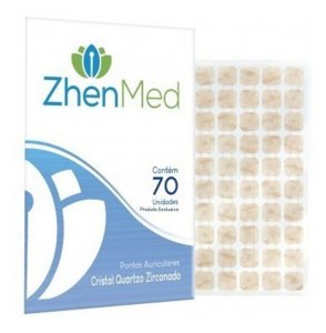 Ponto Cristal Zircônado Zhenmed C/70 Un