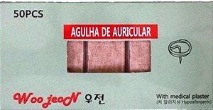 AGULHA AURICULAR 1,5MM WOO JEON C/50 UND
