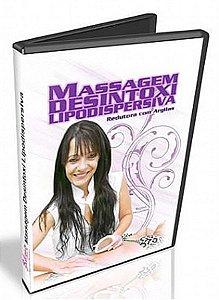 DVD MASSAGEM LIPODISPERSIVA REDUTORA COM ARGILAS E ROLO TURBINADO