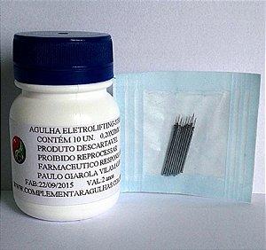 AGULHA ELETROLIFTING STRIAT 0,20 x 3MM