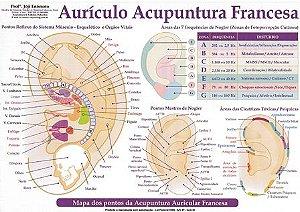 MAPA AURÍCULO ACUPUNTURA FRANCESA