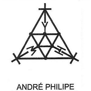 GRÁFICO ANDRÉ PHILIPPE - CARTELA COM 4 UNDS