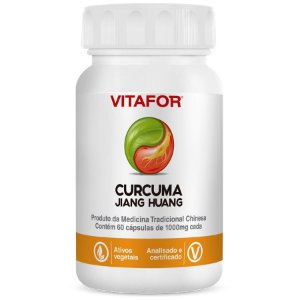 CURCUMA LONGA RHIZOMA - JIANG HUANG 60 CPS - VITAFOR