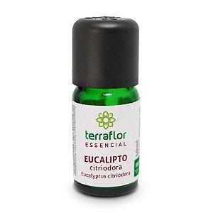 Óleo Essencial De Eucalipto Citriodora 10ml - Terra Flor