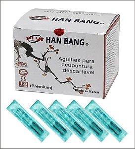 AGULHA DE ACUPUNTURA HAN BANG - CX COM 1000 - LANÇAMENTO!!!