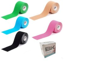 Bandagem Elástica Kinésio Tape - Bk