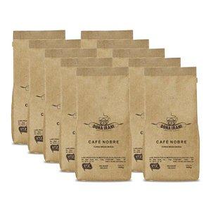 Promoção 5 kgs - Café Dona Irani Nobre torrado e moído 500g - Gourmet