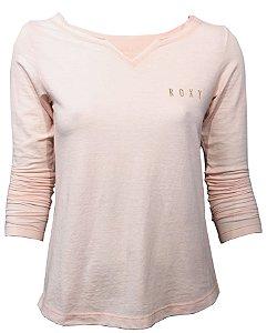 Roxy Camiseta Vintage M/L Seasons - peach whip