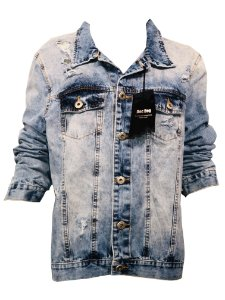 Jaqueta Jeans Destroyed Doc Dog - Make the Impossible Possible DD0050 16211021