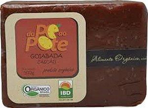 Goiabada Cascão Organica Dope ao Pote Tablete 500 GR