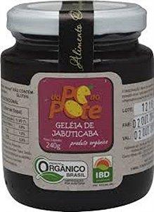 Geleia de Jabuticaba Organica Dope ao Pote 240 GR