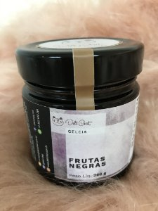 Geleia de Frutas Negras Artesanal Deli Chat 260 gr