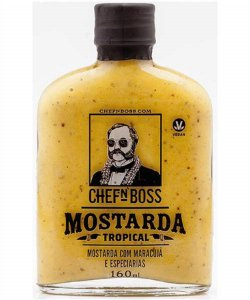 Molho Mostarda Tropical CHEFnBOSS 160 ml