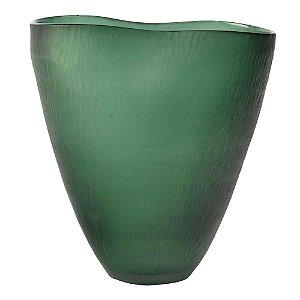 Vaso Verde Texturas II
