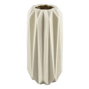 Vaso Texturas Branco P