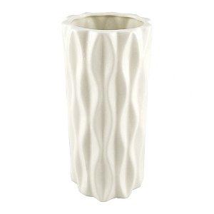 Vaso Branco Texturas M
