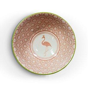 Bowl Flamingo Rosa M